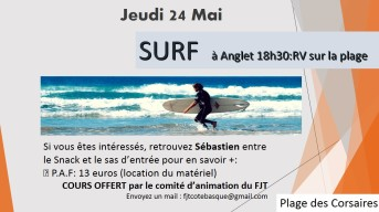 surf 24 mai