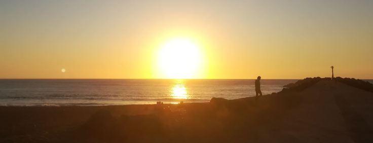 Sunset sur Cavaliers beach