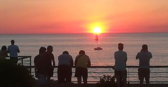 Sunset en mai